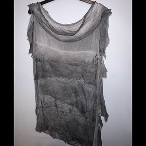 Tops - One of a kind boutique artist stretchy blouse